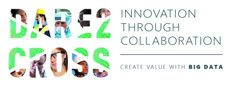 Logo Dare2Cross: Innovation through collaboration, Create value with big data